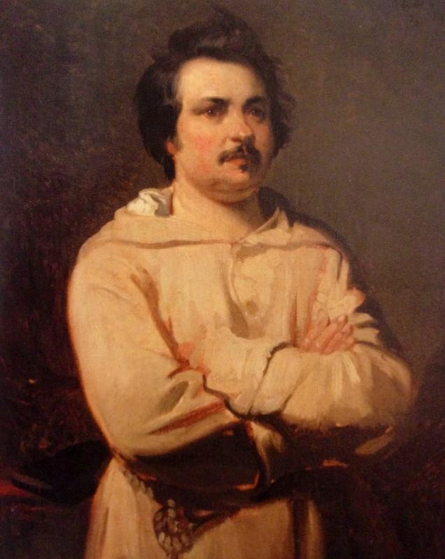 Balzac portrait