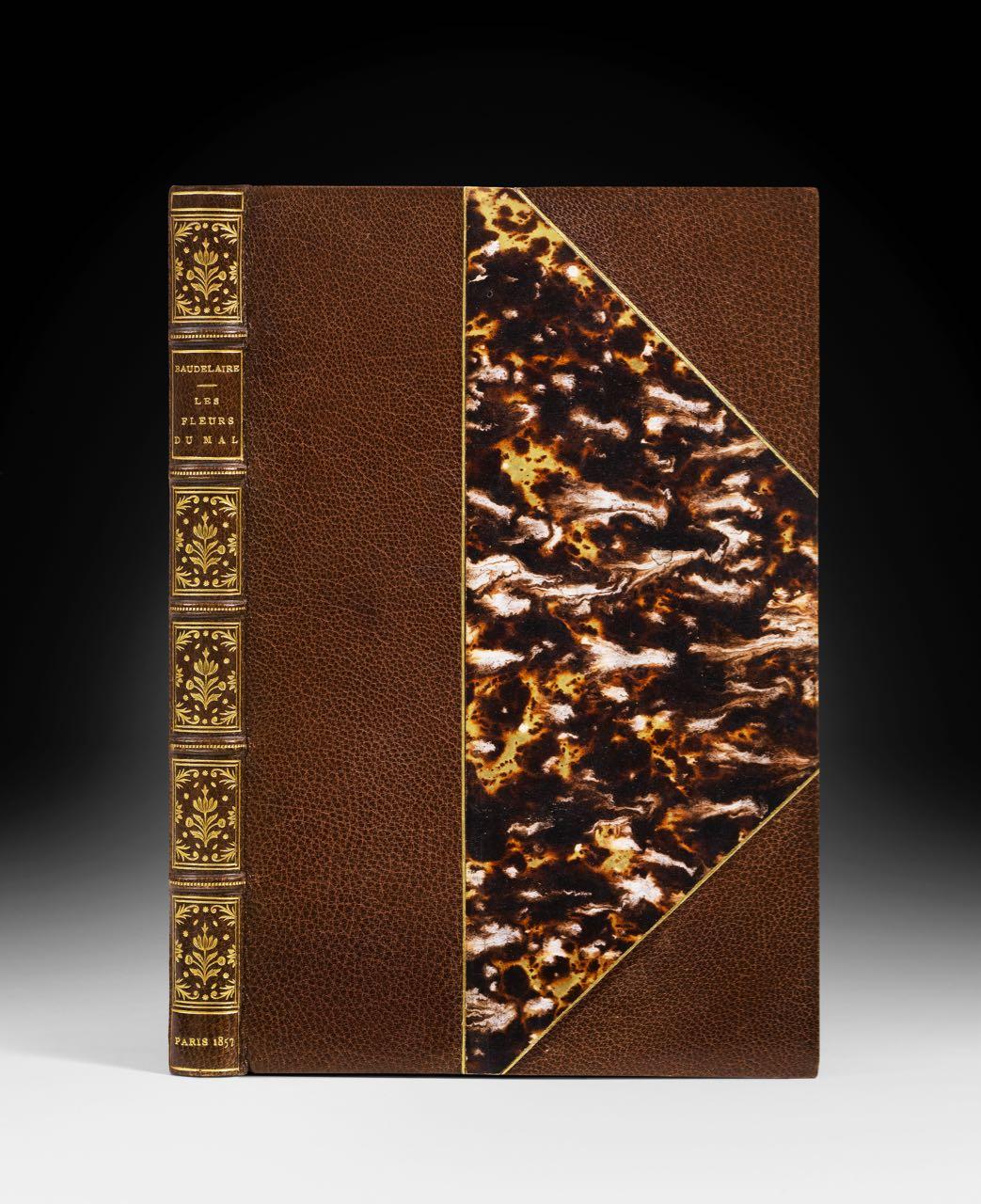 Baudelaire fleurs marron 1