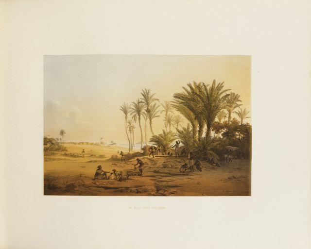 Johann BERNATZ. Scenes in Ethiopia
