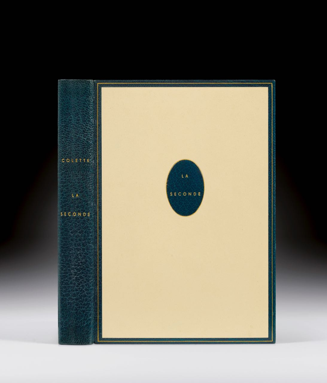 COLETTE. La Seconde UNE SUPERBE RELIURE DE 1948 DU MAÎTRE-RELIEUR PIERRE-LUCIEN MARTIN