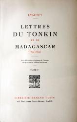 Lyautey : Lettres du Tonkin