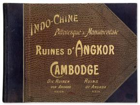 Les ruines d'Angkor photograhiées par Dieulefils