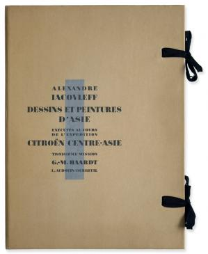 """Iacovleff : Les dessins de la """"Croisière Jaune"""", 50 magnifiques planches du peintre Alexandre Iacovleff"""