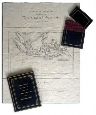 Carte des possessions Néerlandaises