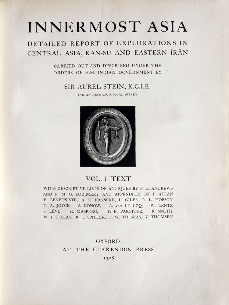 Sir Aurel Stein : Serinda