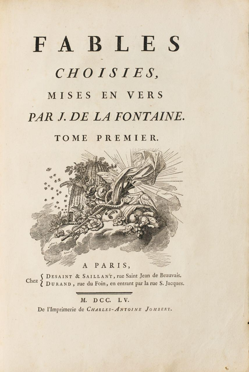 Lafontaine fables oudry 4