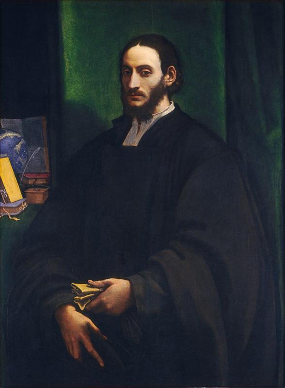 Leon l africain sebastiano del piombo portrait of a humanist