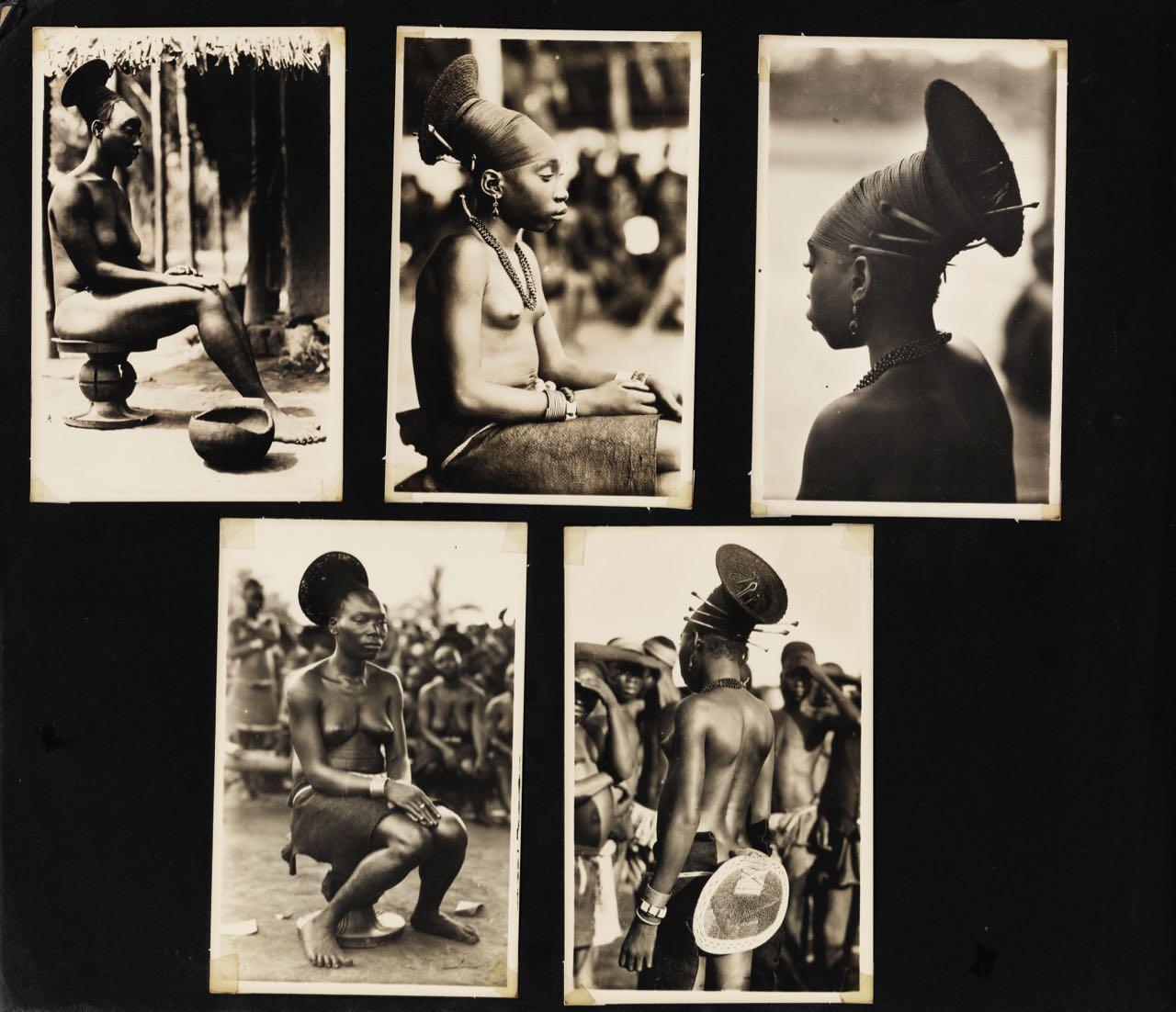 Casimir ZAGOURSKI L'Afrique qui disparaît Un rare album photographique réunissant 550 tirages argentiques d'époque