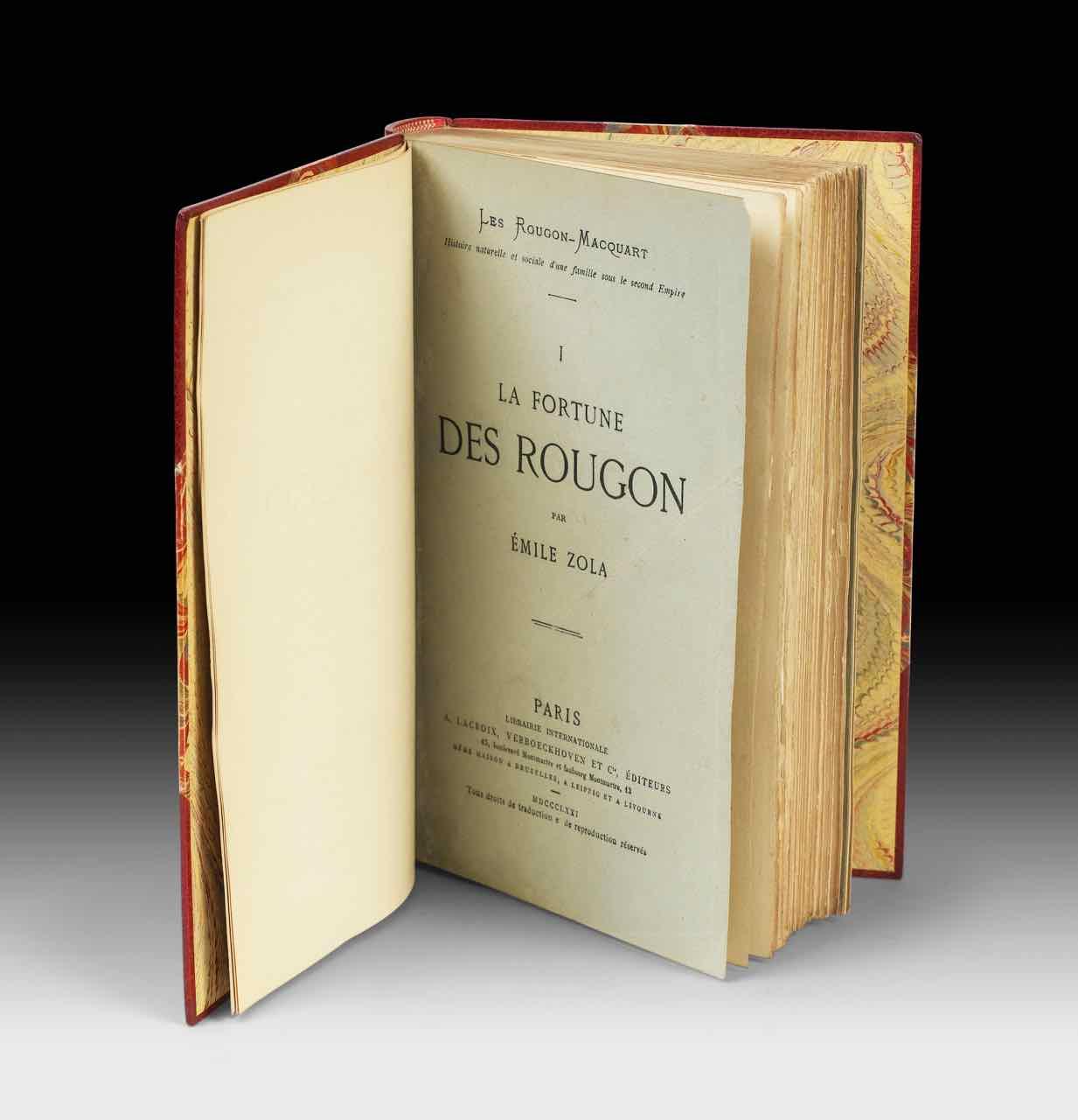 Le premier volume de la célèbre saga familiale ou cycle Les Rougon-Macquart